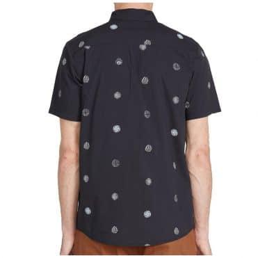 Volcom Op Dot Shirt Black
