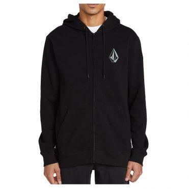 Volcom Stone Zip Up Sweater Black