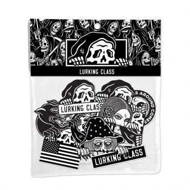 Sketchy LC Sticker Pack #4 Black White