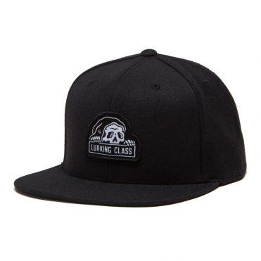 Sketchy Tank Lurking Class Snapback Hat Black