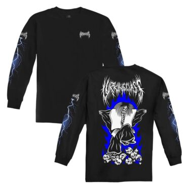 Sketchy Tank Dance Long Sleeve T-Shirt Black