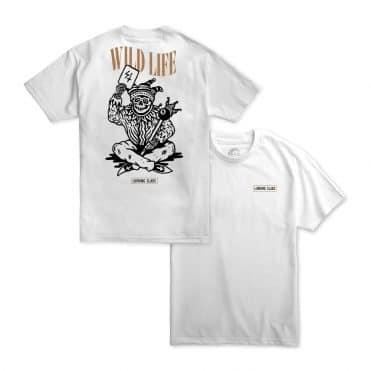 Sketchy Tank Joker T-Shirt White