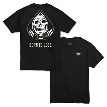 Sketchy Tank Lose T-Shirt Black