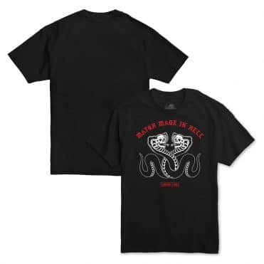 Sketchy Tank Match T-Shirt Black