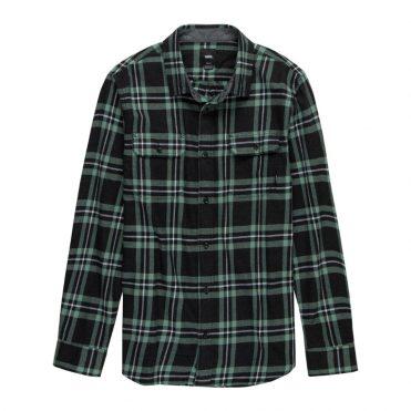Vans Westminster Flannel Long Sleeve Black