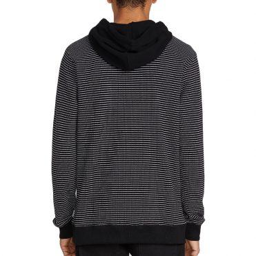 Volcom Allen Pique Hooded Sweatshirt Black