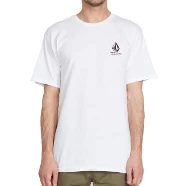 Volcom Chooseyourplayer T-Shirt White