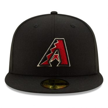 New Era 59Fifty Arizona Diamondbacks 2020 Game Authentic Collection On Field Fitted Hat Black