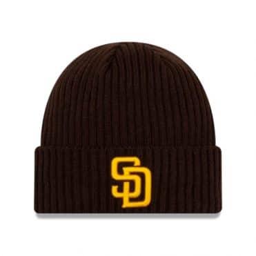 New Era San Diego Padres 2020 Game Knit Beanie Dark Brown