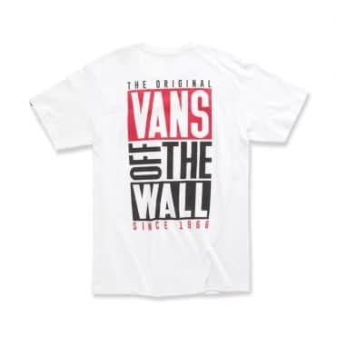 Vans New Stax T-Shirt White