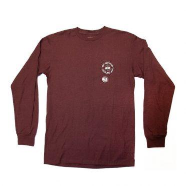 Vans Old Skool Circle Long Sleeve Shirt Port Royal
