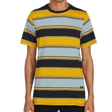 Volcom Chromatic T-Shirt Crew Cool Blue