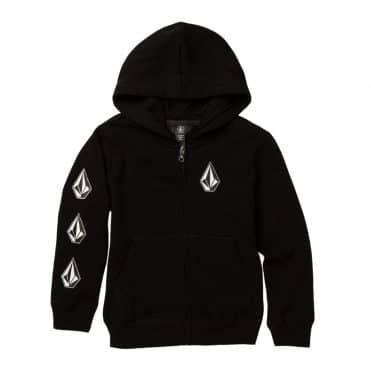Volcom Deadly Stones 2 Hooded Sweatshirt Black