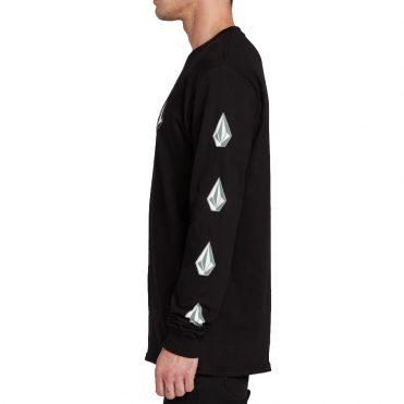 Volcom Deadly Stones Long Sleeve Shirt Black