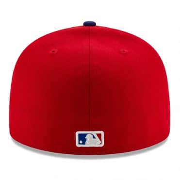 New Era 59Fifty Texas Rangers Alternate 3 Fitted Hat Red Royal Blue