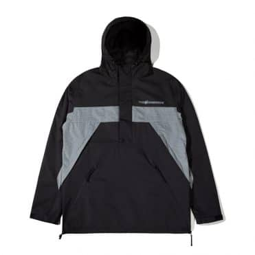 The Hundreds Canyon Anorak Jacket Black