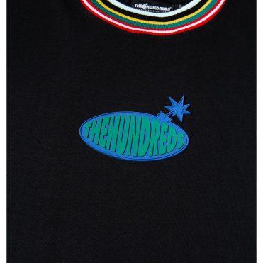 The Hundreds Warp T-Shirt Black