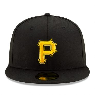 New Era 59Fifty Pittsburgh Pirates Alternate 2 Authentic On-Field Fitted Hat Black