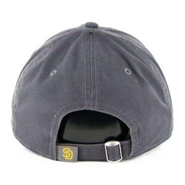 New Era 9Twenty San Diego Padres Core Classic Adjustable Hat Graphite Gold
