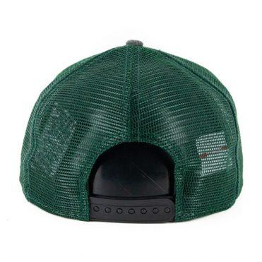 New Era 9Fifty Milwaukee Bucks Heritage Series Trucker Hat Green