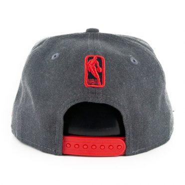 New Era 9Fifty Houston Rockets Heather Crisp 3 Snapback Hat Heather Graphite