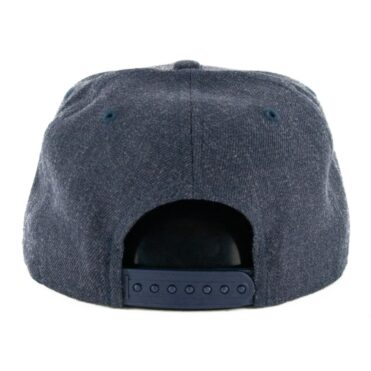 New Era 9Fifty Los Angeles Rams Heather Crisp 3 Snapback Hat Heather Navy