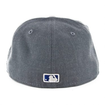 New Era 59Fifty Los Angeles Dodgers Heather Fitted Hat Heather Graphite