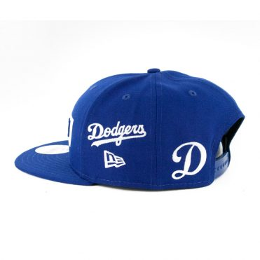 New Era 9Fifty Stack Los Angeles Dodgers Multi Snapback Hat Dark Royal