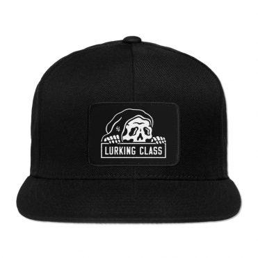 Sketchy Tank Lurking Class Snapback Hat SP20 Black