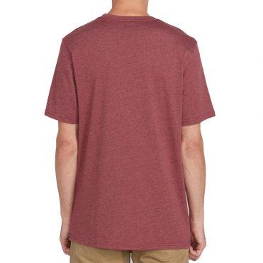 Volcom Meter T-Shirt Crimson