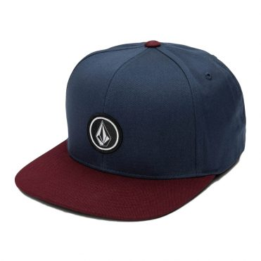 Volcom Quarter Twill Snapback Hat Pinot