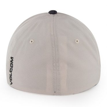 Volcom Stone Tech Xfit Flexfit Hat Almond