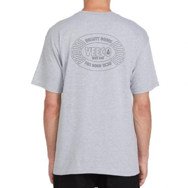 Volcom V-Co Pocket T-Shirt Heather Grey