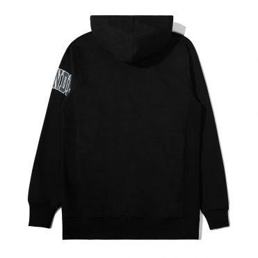 The Hundreds Laurel Pullover Hooded Sweatshirt Black