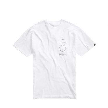 Vans Distortion Type T-Shirt White