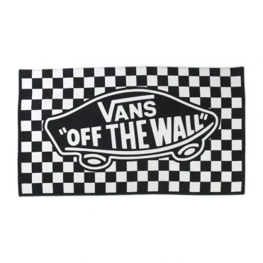 Vans Off The Wall Towel Black White
