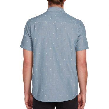 Volcom Archive Mark Shirt Stormy Blue