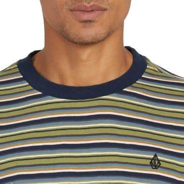 Volcom Fleeter Crew T-Shirt Mosstone