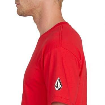 Volcom For Never T-Shirt Red