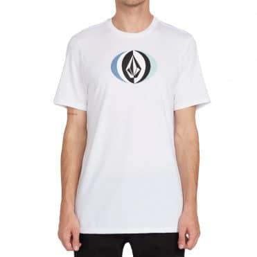 Volcom Layer Round T-Shirt White