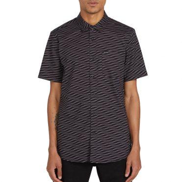 Volcom Levstone Vibes T-Shirt Dark Charcoal