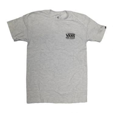 Vans San Diego Coastal T-Shirt Ash Heather