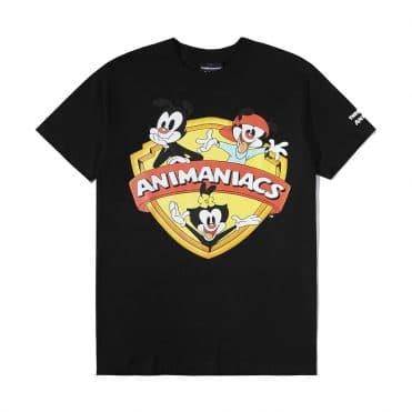 The Hundreds x Animaniacs Shield T-Shirt Black