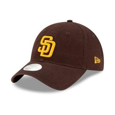 New Era 9Twenty San Diego Padres 2020 Youth Adjustable Hat Dark Brown