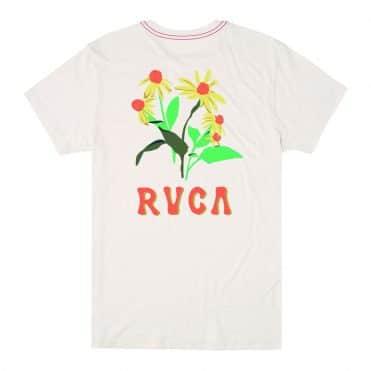 RVCA En Bloom T-Shirt Antique White
