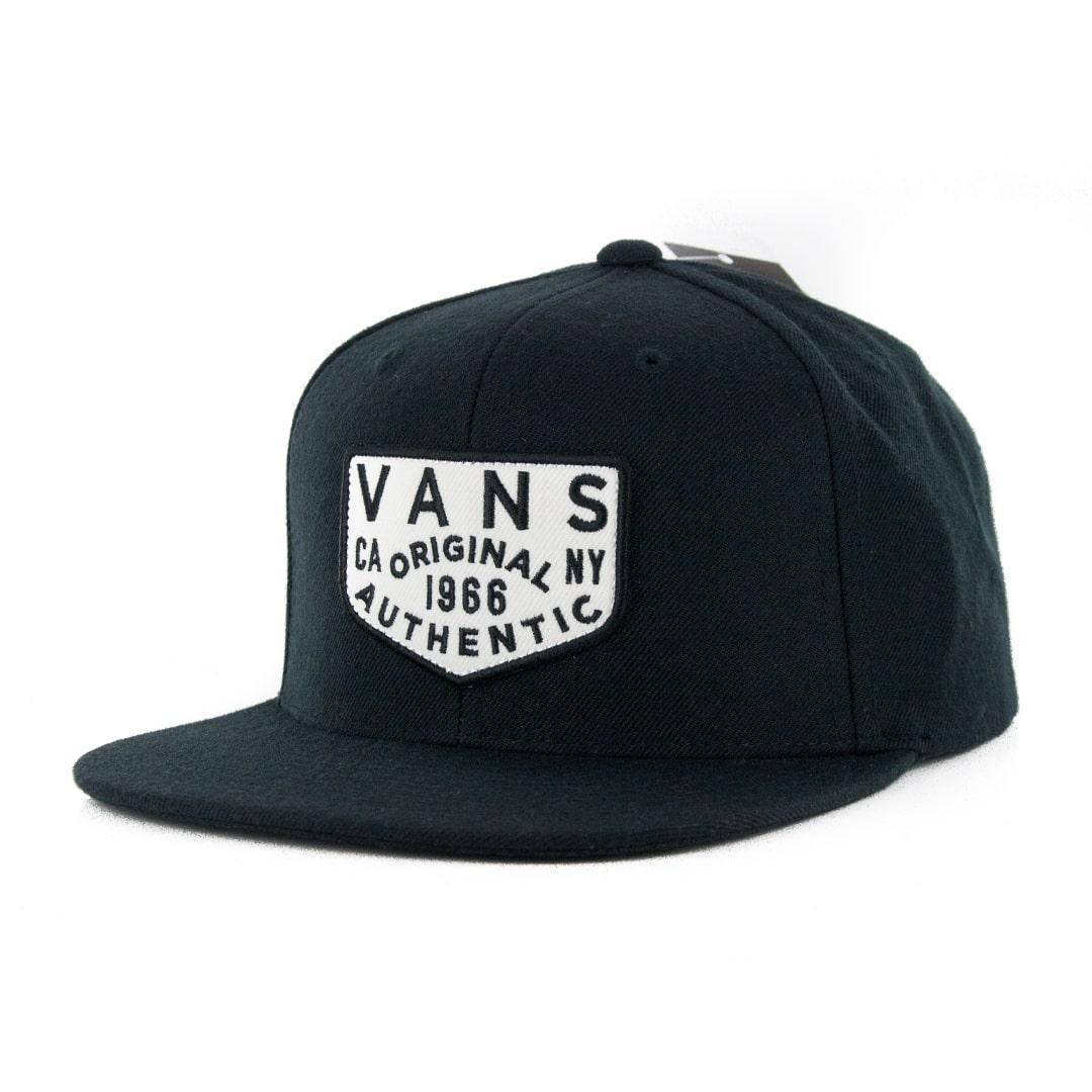 Vans Evers Snapback Hat Black   Billion Creation